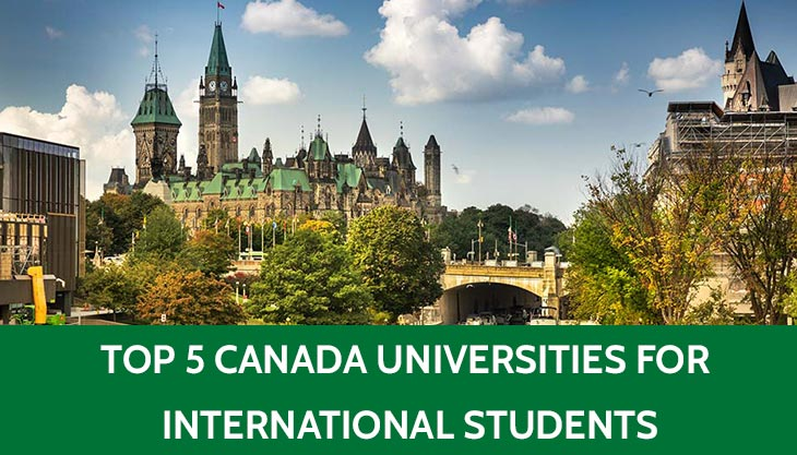 Five Best Universities in Canada for International Students
